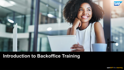Thumbnail for entry Release Announcement: C4H36e - SAP Commerce Backoffice Framework Fundamentals Training Overview (2011 release)