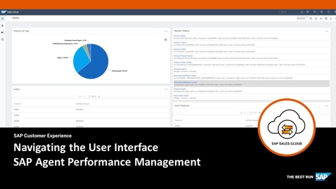 Thumbnail for entry Navigating the SAP Agent Performance Management's User Interface
