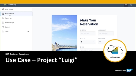 """Thumbnail for entry Use Case – Project """"Luigi"""""""