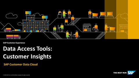Thumbnail for entry Customer Insights - SAP Customer Data Cloud