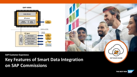 Thumbnail for entry Key Features of Smart Data Integration on SAP Commissions