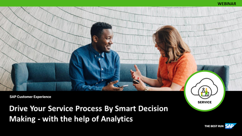 Thumbnail for entry Service Analytics for Smart Decision Making - Webcasts