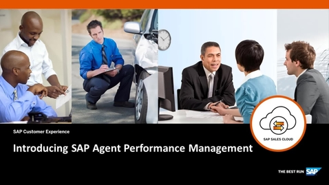 Thumbnail for entry Introducing SAP Agent Performance Management