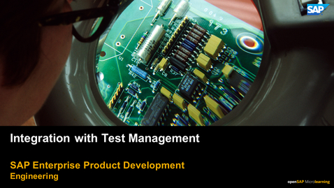 Thumbnail for entry Integrating Systems Engineering with Test Management - PLM: Systems Engineering