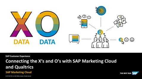Thumbnail for entry Connecting the X's and O's with SAP Marketing Cloud and Qualtrics