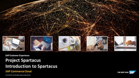Thumbnail for entry Introduction to Spartacus - SAP Commerce Cloud