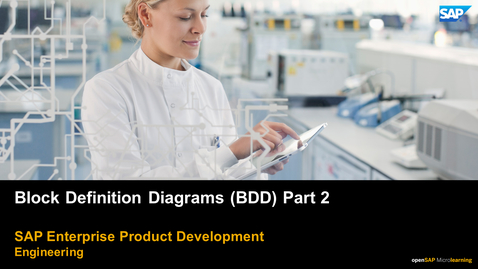 Thumbnail for entry Block Definition Diagram (BDD) Part 2 - PLM: Systems Engineering
