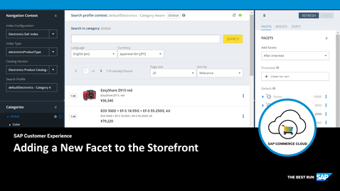 Thumbnail for entry Adding a New Facet to the Storefront - SAP Commerce Cloud