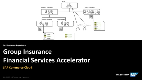 Thumbnail for entry Group Insurance Financial Services Accelerator - SAP Commerce Cloud