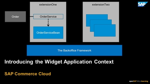 Thumbnail for entry Introducing the Widget Application Context in Backoffice Framework - SAP Commerce