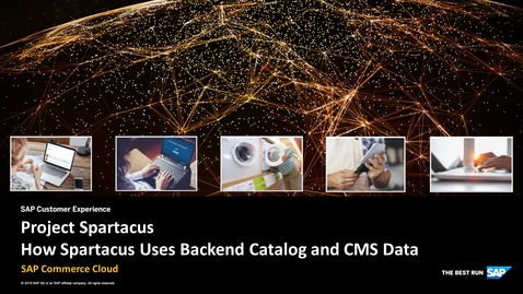 Thumbnail for entry How Spartacus Uses Backend Catalog and CMS Data - SAP Commerce Cloud