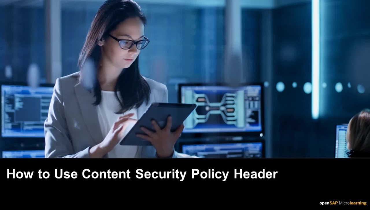 How to Use Content Security Policy Header - SAP SuccessFactors