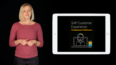 Thumbnail for entry Enablement Webinars for all Customers and Partners