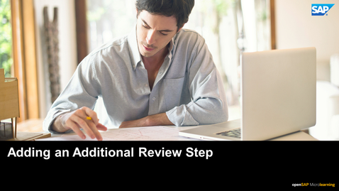 Thumbnail for entry Adding an Additional Review Step - SAP Concur