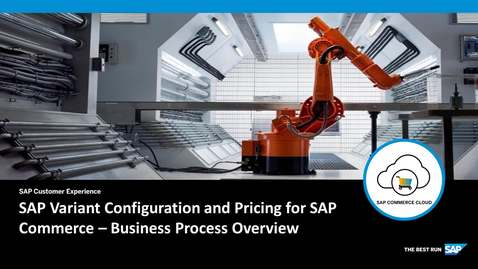 Thumbnail for entry Variant Configuration and Pricing for SAP Commerce - SAP Product Configuration - SAP Commerce Cloud