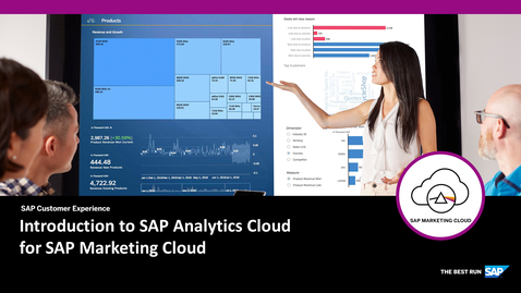 Thumbnail for entry Introduction to SAP Analytics Cloud for SAP Marketing Cloud
