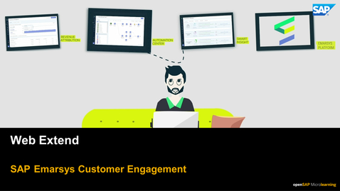 Thumbnail for entry Web Extend - SAP Emarsys Customer Engagement