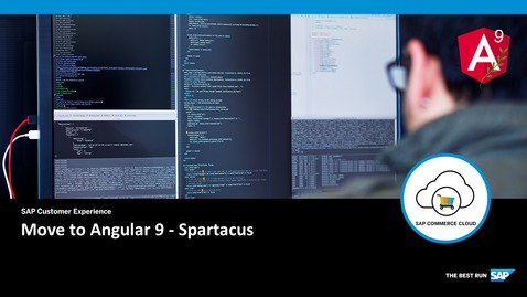 Thumbnail for entry Move to Angular 9 - Spartacus - SAP Commerce Cloud