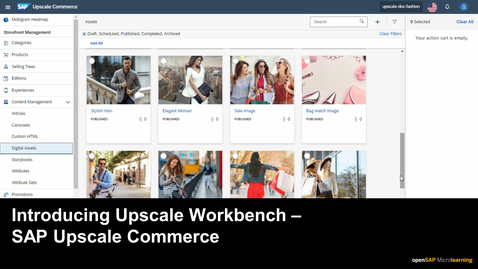 Thumbnail for entry Introducing Upscale Workbench - SAP Upscale Commerce