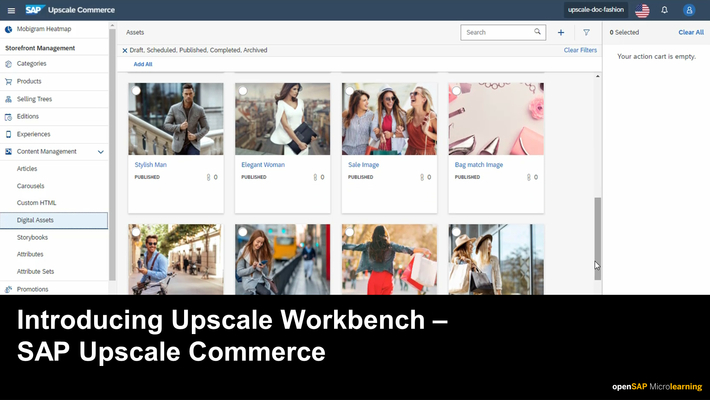 Introducing Upscale Workbench - SAP Upscale Commerce