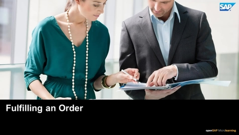 Thumbnail for entry Fulfilling an Order - SAP Upscale Commerce