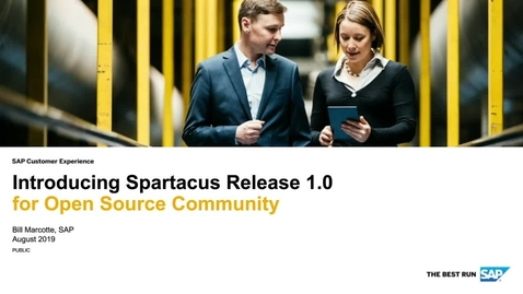 Thumbnail for entry Introducing Spartacus Release 1.0 for Open Source Community - Webinars