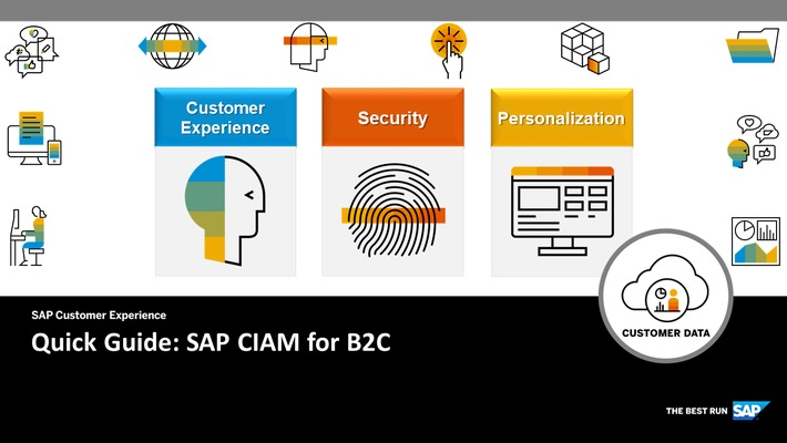 CIAM for B2C - Quick Guide - SAP Customer Data