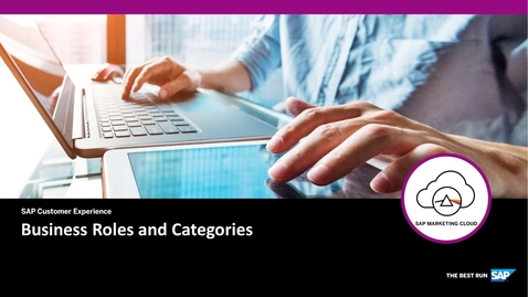 Thumbnail for entry Business Roles and Categories - SAP Marketing Cloud
