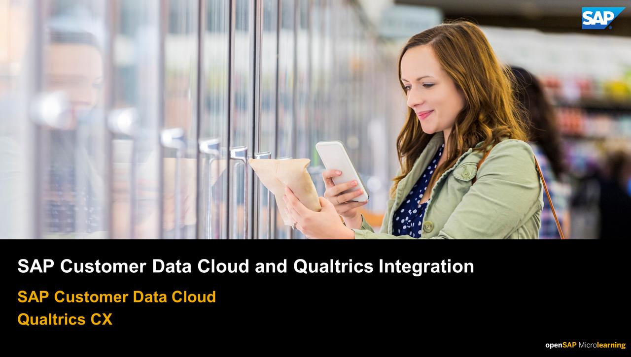 SAP Customer Data Cloud and Qualtrics Integration