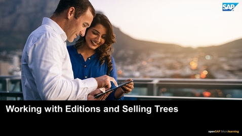 Thumbnail for entry Working with Editions and Selling Trees - SAP Upscale Commerce