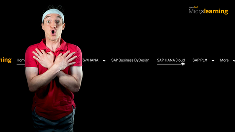 Thumbnail for entry SAP HANA Cloud - Now on openSAP Microlearning!