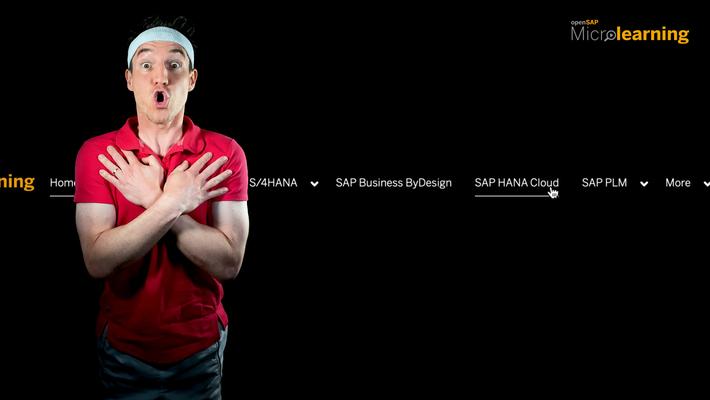 SAP HANA Cloud - Now on openSAP Microlearning!