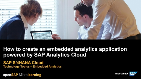 Thumbnail for entry How to Create an Embedded Analytics Application Powered by SAP Analytics Cloud - SAP S/4HANA Cloud Technology Topics