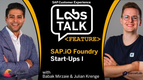 Thumbnail for entry Labs Talk - Feature: SAP.io Foundry Start-Ups I
