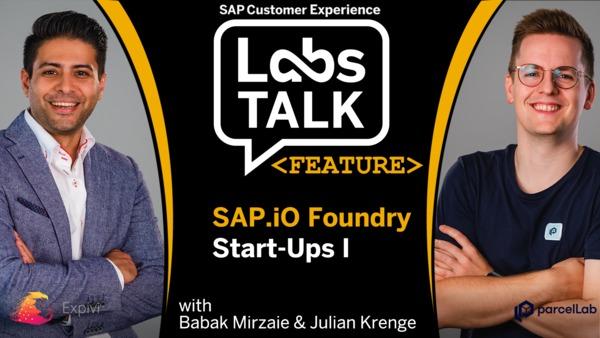 Labs Talk - Feature: SAP.io Foundry Start-Ups I