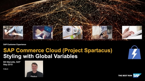 Thumbnail for entry Styling with Global Variables - SAP Commerce Cloud