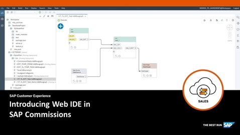 Thumbnail for entry Introducing Web IDE in SAP Commissions