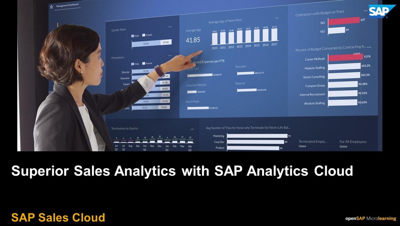 Superior Sales Analytics with SAP Analytics Cloud - SAP Sales Cloud