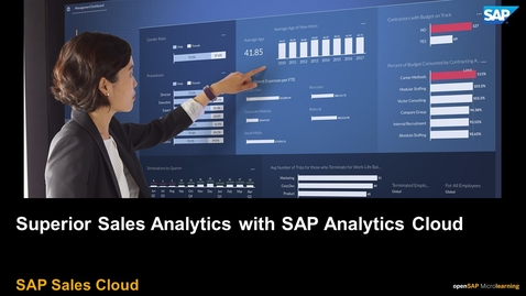 Thumbnail for entry Superior Sales Analytics with SAP Analytics Cloud - SAP Sales Cloud