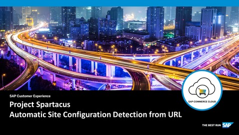 Thumbnail for entry Automatic Site Configuration Detection from URL - SAP Commerce Cloud