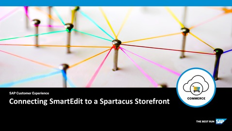 Thumbnail for entry Connecting SmartEdit to a Spartacus Storefront - SAP Commerce Cloud