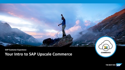 Thumbnail for entry Introduction to SAP Upscale Commerce
