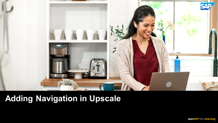 Adding Navigation in SAP Upscale Commerce