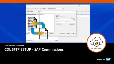Thumbnail for entry CDL SFTP SETUP - SAP Commissions