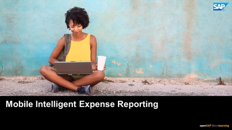 Thumbnail for entry Intelligent Expense Reports - SAP Business ByDesign