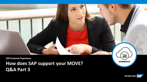 Thumbnail for entry How does SAP support your Move? Q&A Part 3 - SAP Commerce Cloud