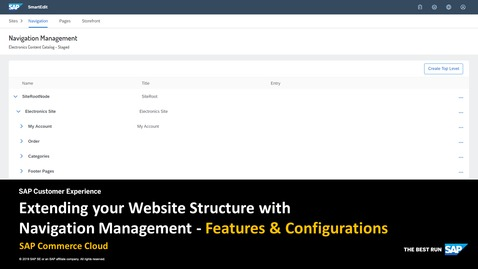 Thumbnail for entry Extending your Website Structure with Navigation Management