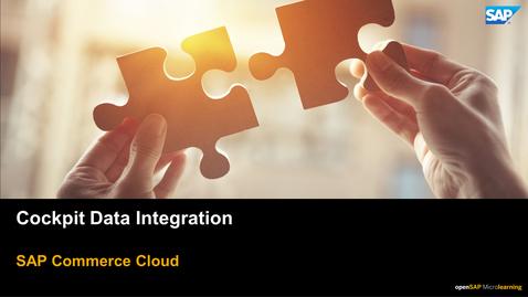 Thumbnail for entry Integrating Data in Backoffice Framework - SAP Commerce Cloud