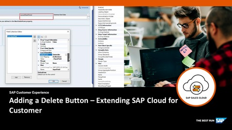 Thumbnail for entry Adding a Delete Button  - Extending SAP Cloud for Customer