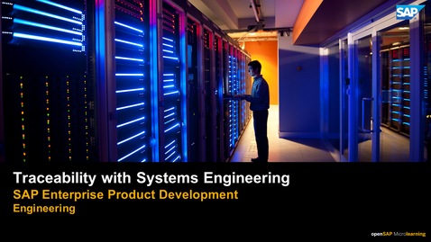 Thumbnail for entry Using Traceability in Systems Engineering - PLM: Systems Engineering